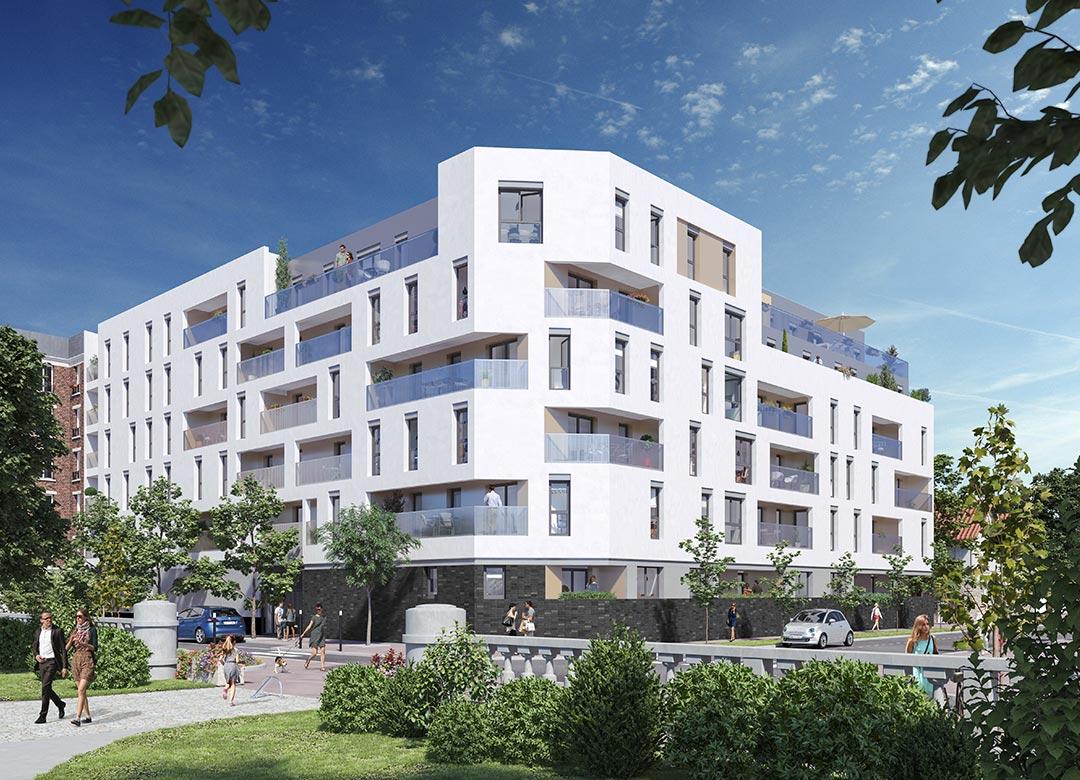 新房 – La Courneuve – 2018年4季度交房