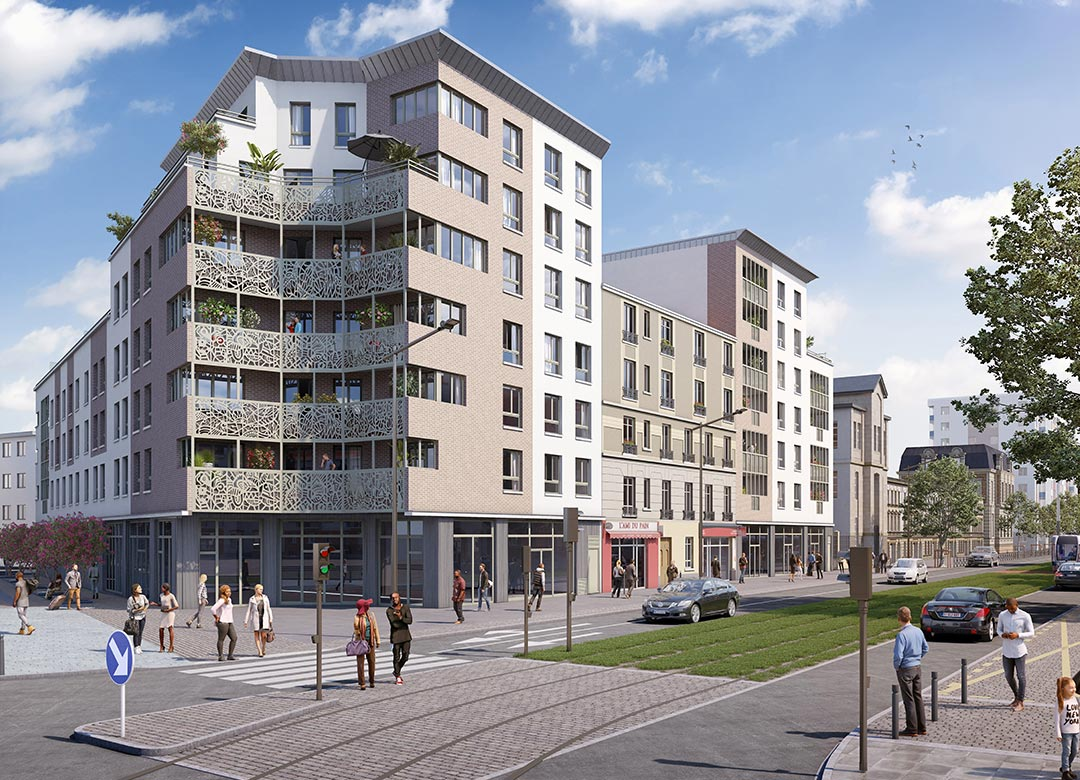 新房 – Saint Denis – 2020年1季度交房