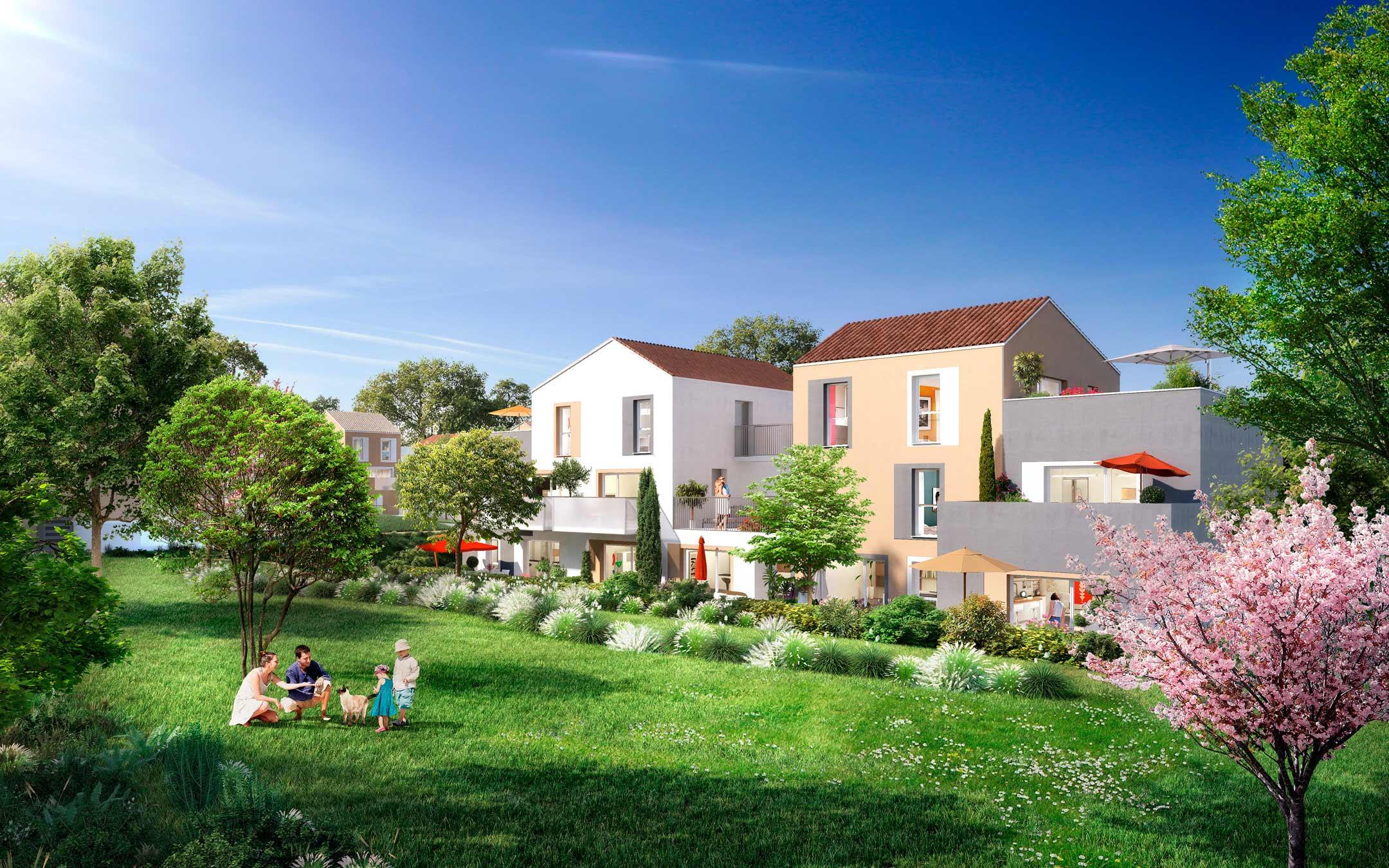 新房 – Saint-Ouen-l'Aumône – 2020年3季度交房