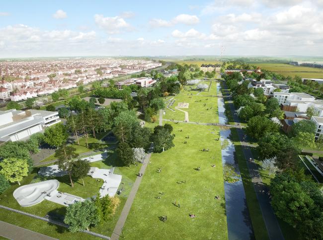 新房 – Bussy Saint-Georges – 2020-2022年交房