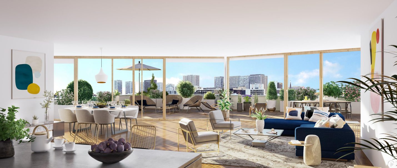 新房 – 巴黎13区 – 2024年1季度交房